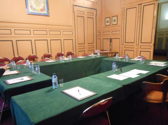 La salle du conseil du 8e arrondissement.