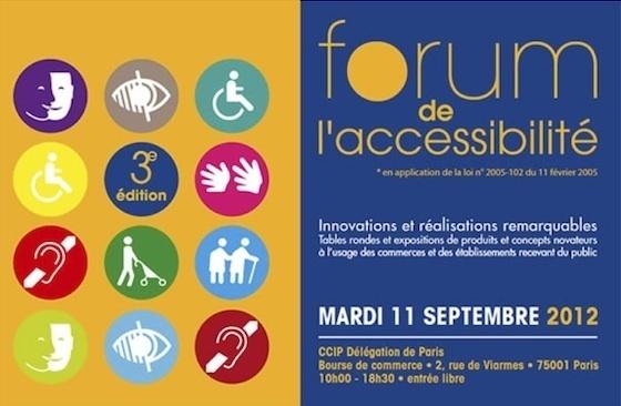 11 septembre : 3e forum de l'accessibilité de la Préfecture de Police de Paris pour les commerçants