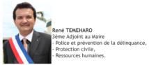 René Temeharo, adjoint aux ressources humaines - site officiel de la ville de Papeete.