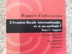 Rapport du Sénat publié le 24 juillet 2012.