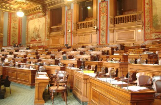 Salle du Conseil de Paris.