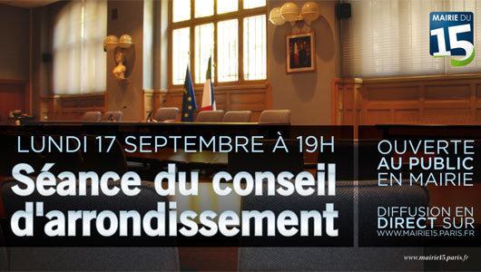 (c) Mairie du 15e arrondissement.