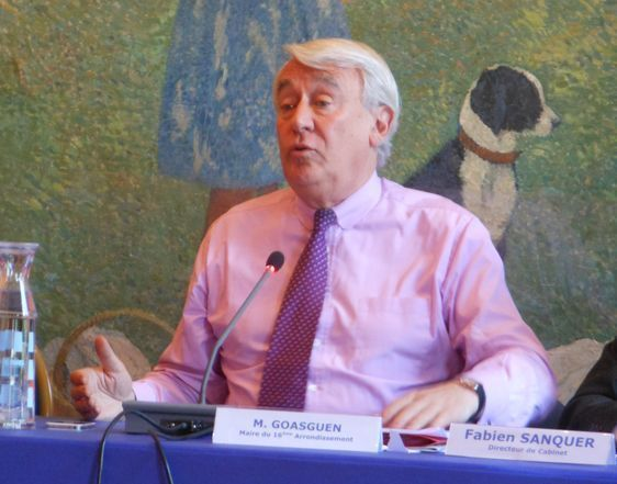 Claude Goasguen, député-maire du 16e arrondissement - Photo : GB.