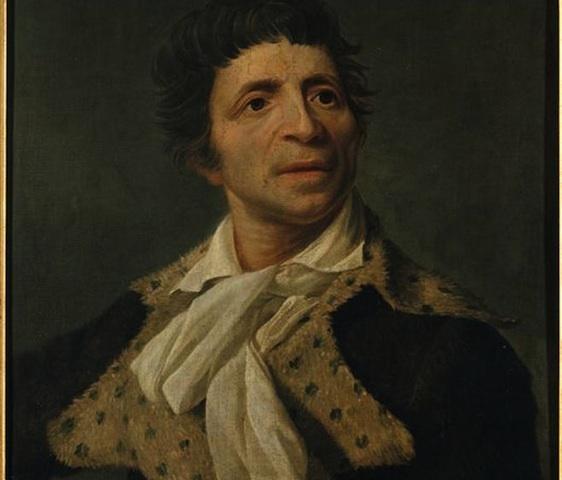 Jean-Paul Marat, député de Paris, né le 24 mai 1743 à Boudry (Neuchâtel - Suisse) et assassiné le 13 juillet 1793 à Paris.