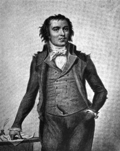Pierre, Victurnien, Vergniaud (1753-1793) est député de la gironde. C'est l'un des chefs des girondins. Il est l'un de ceux qui accuse Robespierre de vouloir instaurer une dictature. Quelques mois plus tard, Robespierre le fera guillotiner - Illustr. 1789-1799.blogspot.fr