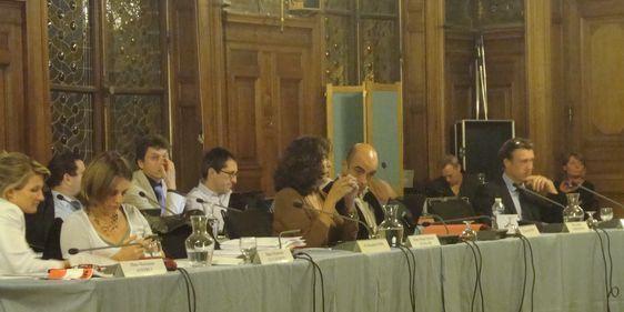 Le précédent conseil du 14e arrondissement le 17 septembre 2012.