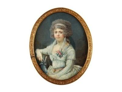 Portrait de Charlotte Corday (c) Etude Coutau-Bégarie.