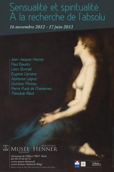 Musée Henner : Sensualité et spiritualité. À la recherche de l'absolu.