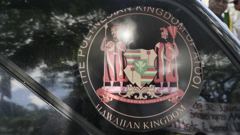 L'écusson du Polynesian Kingdom of Atooi © VD/MT