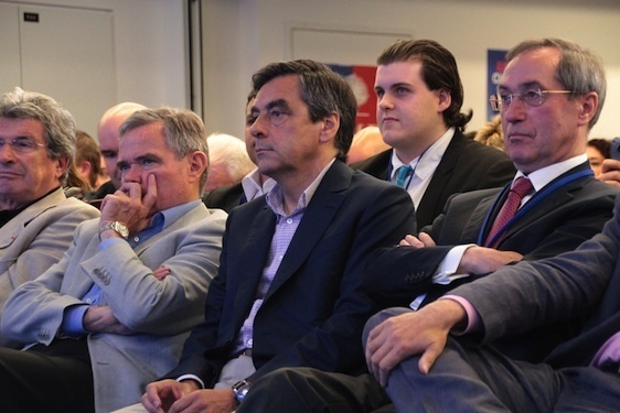 François Fillon, réunion des cadres de l'UMP le 7 juillet 2012 - Crédit Photo : UMP.