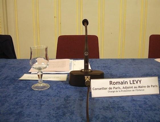 Romain Levy, un nouveau papa au conseil du 6e arrondissement.