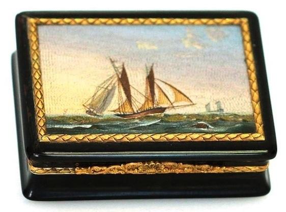 Lot 81 Tabatière attribuée à Francesco Belloni estimée entre 34 000 et 38 000 euros (c) Accademia Fine Art.