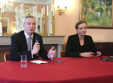 Bruno Lemaire et Nathalie Kosciusko-Morizet (c) brunolemaire.fr