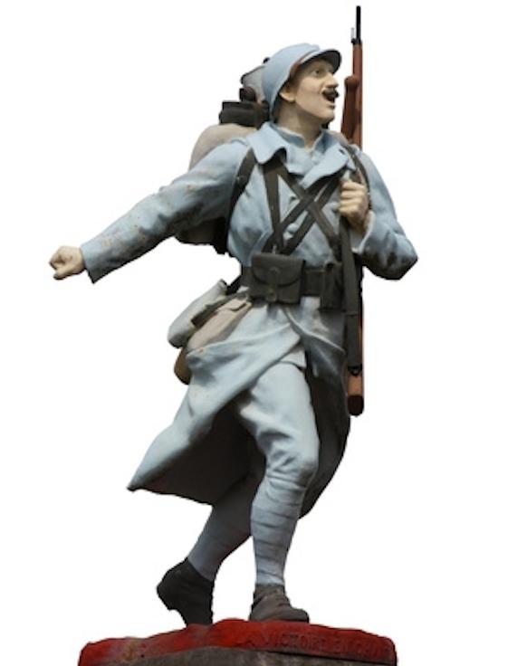 Soldat de la Grande Guerre 1914 - 1918 © Brad Pict - Fotolia.com