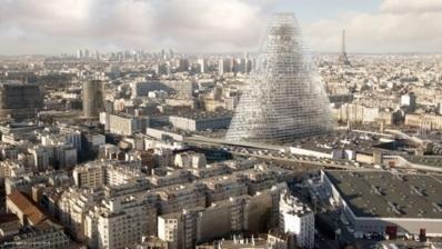 La future Tour Triangle dont la construction est prévue en 2017 - Crédit photo : Mairie de Paris.
