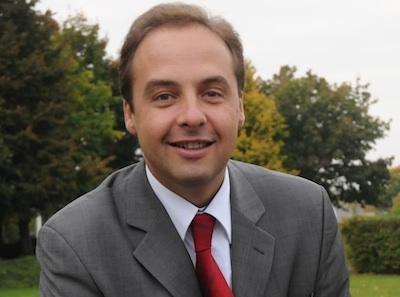 Jean-Christophe Lagarde, député-maire de Drancy (c) détail affiche - Elections législatives 2012.