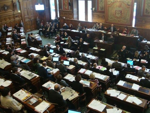 Conseil de Paris du mois de novembre 2012 - Photo : VD.