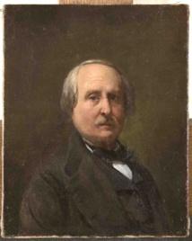 Biard, Autoportrait, 1870-1875, oil painting©Chateau de Versailles, RMN-Grand Palais, Christophe Fouin