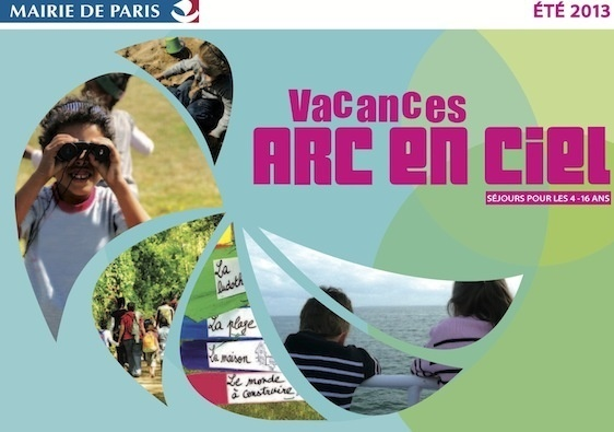 Vacances Arc en Ciel 2013 : Brochure électronique (c) Mairie de Paris.