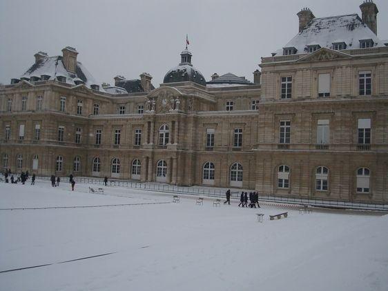 Coup de froid au Sénat - Photo : VD.