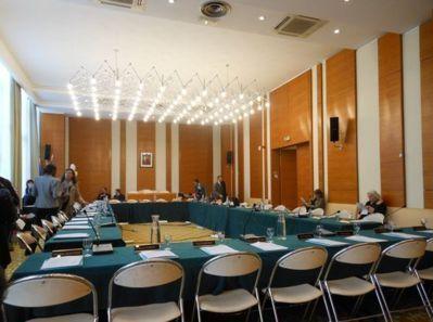 Salle du conseil du XVIIe arrondissement - Photo : GBJ.