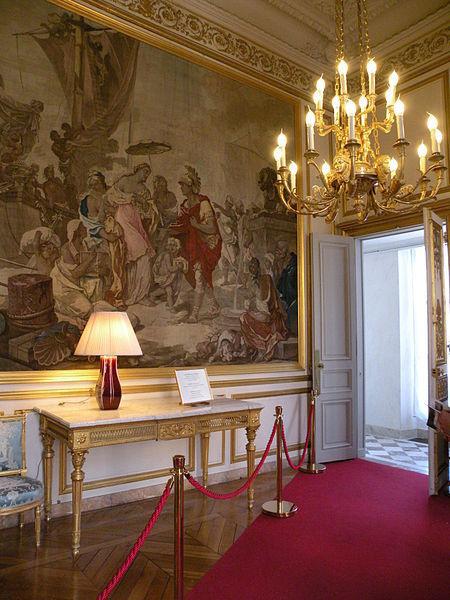 Salon Cléopâtre au Palais de l'Elysée © Photo Chatsam sous licence creative commons.