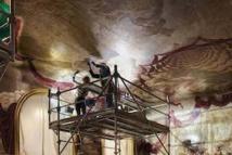 Salon Wendel, restoration work ©Pierre Antoine