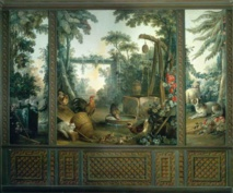 Le Salon Demarteau before restoration © Antoine Mercusot