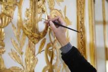 Restoration in the Salon de Compagnie of the Hotel d'Uzès ©Antoine Mercusot
