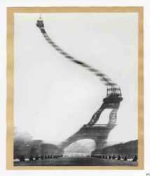 Eiffel Tower by Robert Doisneau, 1965, gelatine-silver print © Robert Doisneau_Gamma Rapho © MAD Paris Christophe Dellière