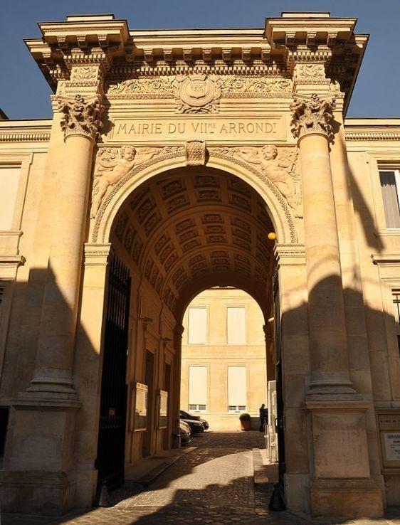 Mairie du VIIe arrondissement - Photo : Moonik sous licence creative commons.