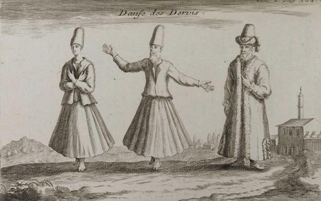 Lot 136 Danse des Dervis - Tournefort (c) Etude Kapandji Morhange.