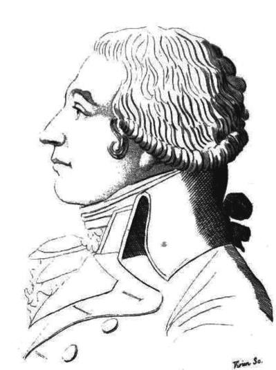 Jean-Baptiste Boyer-Fonfrède, girondin (1766-1793). Il combat les montagnards avec vigueur. Il est envoyé à la guillotine à 27 ans par le tribunal révolutionnaire - Graveur : Vivien - Source : Galerie historique des contemporains, édition 2de, t. 2, Bruxelles, Auguste Wahlen et Cie, 1822.