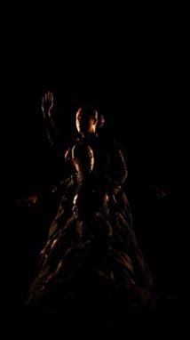 Yuki Kihara, still from video performance 'Siva in Motion' (2012), collection of Auckland Art Gallery, Toi o Tamaki, Auckland, New Zealand © Yuki Kihara and Mitford Galleries, Dunedin, New Zealand