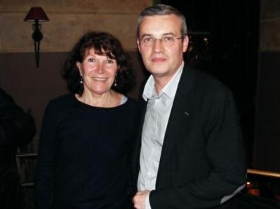 Laurence Graffin et Emmanuel Pierrat, candidats EELV aux municipales dans le VIe arrondissement de Paris.