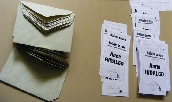 Les résultats du vote d'investiture d'Anne Hidalgo dans le XIe arrondissement