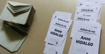 Les résultats du vote d'investiture d'Anne Hidalgo dans le XVIIe arrondissement