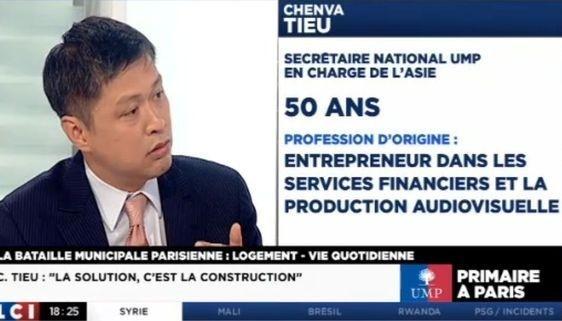 ChenvaTieu lors du débat télévisé sur LCI el 14 mai 2013 (c) capture d'écran