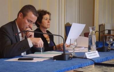 Emmanuel Pierrat, conseiller d'arrnondissement - Photo : VD.