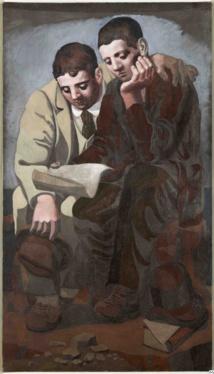 Pablo Picasso, La Lecture de la Lettre, 1921, Musée National Picasso©RMN-Grand Palais/photo Mathieur Rabeau