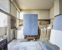 Huong Dodinh, Canvas 74 in atelier, 196x138cm, Nov-Dec. 2006 © Droits Réservés