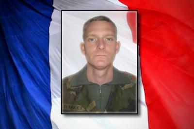 Opération SANGARIS - Décès du caporal Damien DOLET, 26 ans - RICM - Crédit : Sirpa Terre.