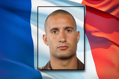 Opération SANGARIS - Décès du soldat de première classe Nicolas VOKAER, 23 ans - Crédit : Sirpa Terre.