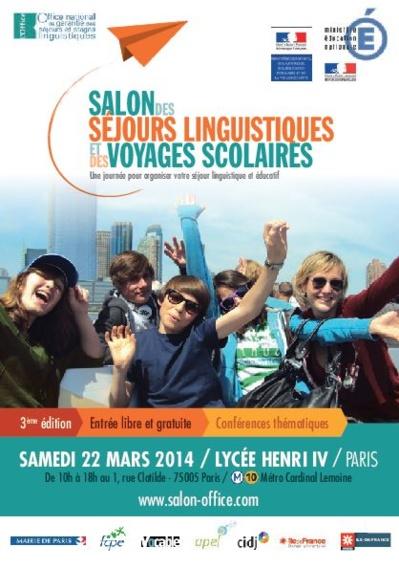 (c) Salon des séjours linguistiques et des voyages scolaires.