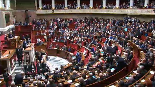 Déclaration de politique générale du gouvernement par Manuel Valls Premier Ministre - Capture d'écran assemblee-nationale.fr