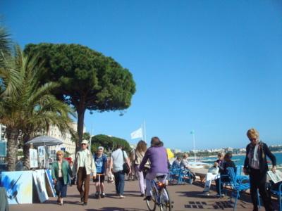 Cannes : sur la Croisette, les piétons se rebiffent - Crédit : Les droits du piéton.