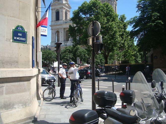 Le commissariat du 6e part dans le 5e arrondissement - Crédit : VD.