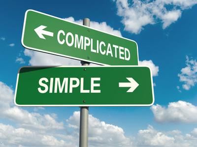 Simple ou compliqué © Jane - Fotolia.com