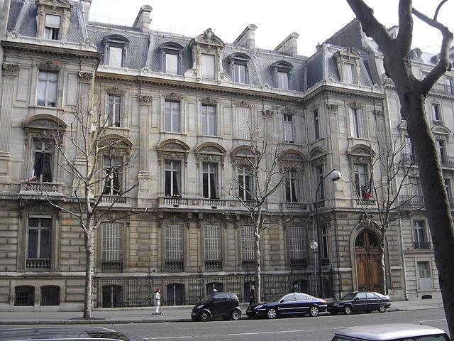Mairie du 8ème arrondissement - façade boulevard Malesherbes © Gérard Janot sous licence creative commons