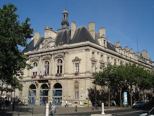 Mairie du 11e arrondissement de Paris © FLLL sous licence creative commons.